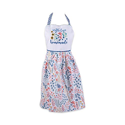 DII Flower Garden Kitchen Textiles, Apron, Homemade with Love
