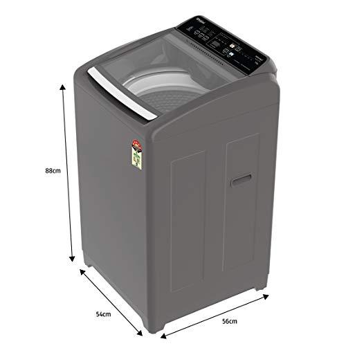 Whirlpool 7.5 Kg 5 Star Royal Plus Fully-Automatic Top Loading Washing Machine (WHITEMAGIC ROYAL PLUS 7.5, Grey, Hard Water Wash) 2