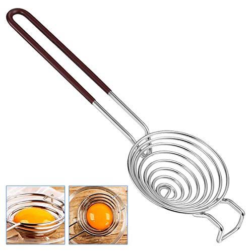 Eiweiß Trenner Edelstahl Eigelb Trenner Teiler Filter Küchen Hilfsmittel Backen Werkzeug