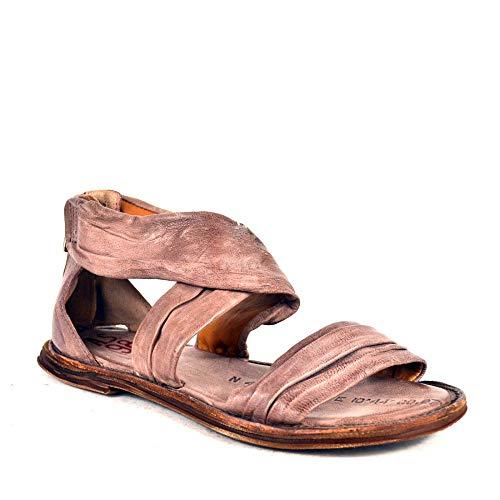 A.S.98 Airstep Leder Sandale Damen Sandaletten Schuhgröße 37, Farbe Altrosa