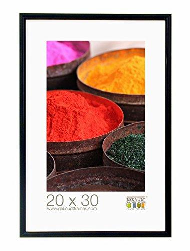 Deknudt Frames Cornice S011S2-40.0X60.0, nero lucido, legno