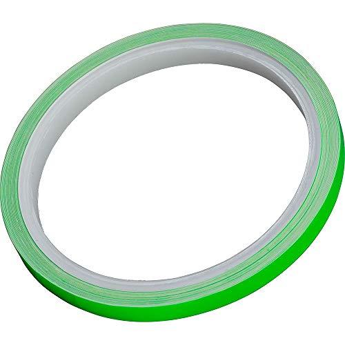 Hashiru Motorrad-Felgenzierstreifen Felgenzierstreifen grün fluoreszierend, Unisex, Multipurpose, Ganzjährig, Kunststoff