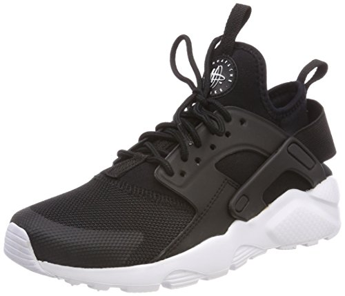 Nike Air Huarache Run Ultra (GS), Zapatillas Unisex Niños, Negro (Black/White 020), 36.5 EU