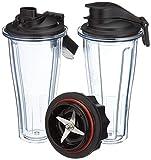 Vitamix Ascent Series Kit de démarrage pour tasse à mélanger, 600 ml, plastique sans BPA, 600 millilitres, transparent