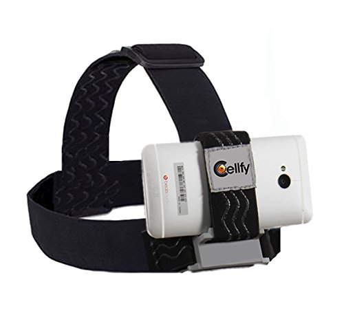 Tribbit Universal Head Mount for Your Smartphone, Operable with Any Device. Don't Waste Money on a GoPro, Use Your Own Phone. Strong Hold, Easy to Use!