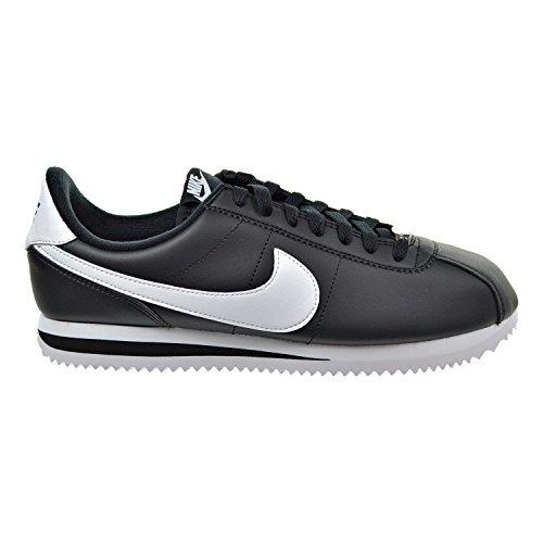 Nike Herren Cortez Classic Leder Laufschuhe Blau (Obsidian/Metallic Weiß) 42