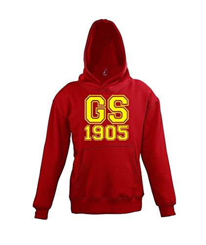 Youth Designz Kinder Hoodie Kapuzenpullover Galatasaray - Rot 106/116 (6 Jahre)