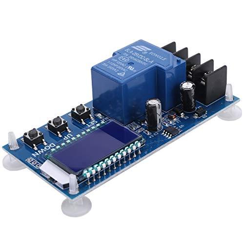 Wivarra 6-60V 30A Almacenamiento Batería Carga Módulo de Control Placa de Protección Cargador Interruptor de Tiempo Pantalla LCD Xy-L30A