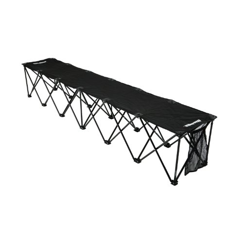 Insta-Bench Classic 6-Seater Bench (Black)