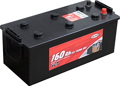 Batería Para Autocarro Y Tractores 160ah 12V 1020A Polo Positivo Izquierdo