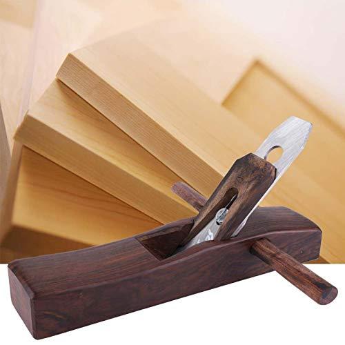 Cepillo de carpintero, banco de cepillado de madera de ébano, para pulir y cortar