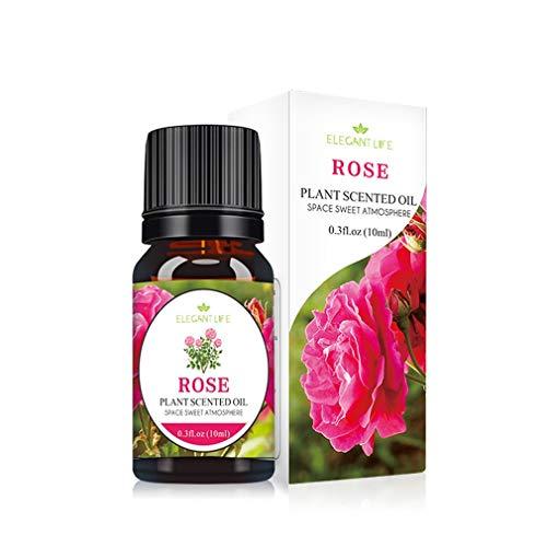 bansd Olio Essenziale Pure Natural Osmanthus Rose 10ML Oli Essenziali Aromaterapia Rose