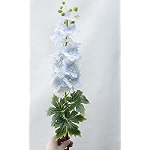 Artificial and Dried Flower 80cm Real Touch Delphinium Flower Latex Long Brah Wedding Home Decoration Fake Flower