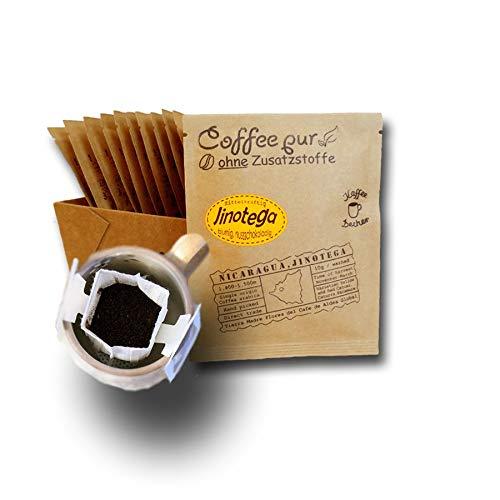 Life is You! Coffee Bags   Jinotega Kaffee aus NICARAGUA, von hand geerntet   15 Coffee Bags (für Becher)   frisch und schonend handgerösteter Filterkaffee zum Aufbrühen in Premium Qualität