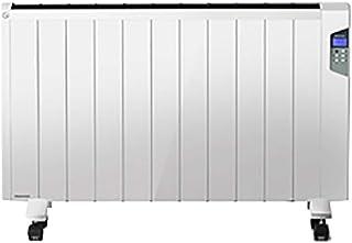 DIOE Calentador de Doble Uso (Vertical o montado en la Pared), Equipo de calefacción Que Ahorra energía, Secado, Carcasa de aleación de Aluminio, Adecuado para calefacción de 12-20 m2, Blanco