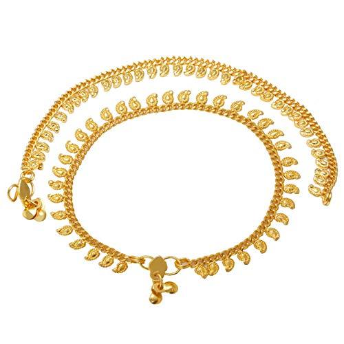 Memoir Gold Plated Elegant Kairi Mango Shape Auspicious Brid
