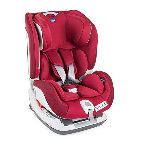 Chicco Set Up 012 Silla de Coche Reclinable Bebés de 0-25 Kg con Isofix, Grupo 0+/1/2 para Niños de 0-6 Años, Fácil de Instalar, Cojín Reductor,...