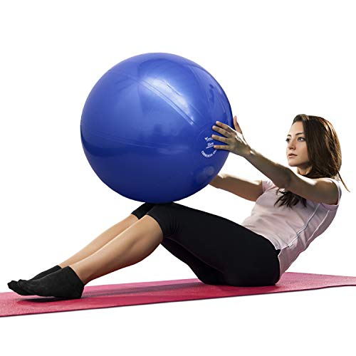 ATREQ Commercial Grade Gym Ball [Each] • Perfect for weight training, fit ball workouts, yoga, pilates or physiotherapy (65cm)