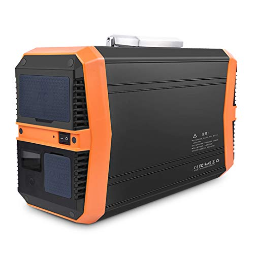 SHIN Portable Power Station 1000W 270000mAh Portable Solar Generator with Wireless Charge Dual 220V AC Outlet 4 USB Ports 2 DC Outlet for Celphones Laptop RV Camping Fishing Outdoors