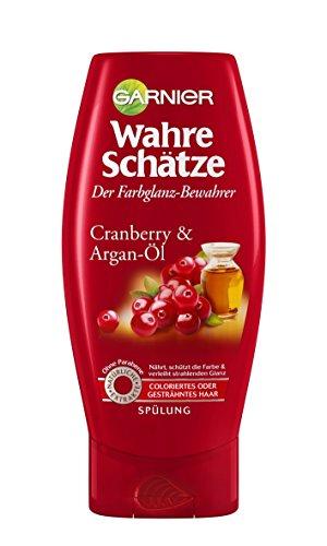 Garnier Wahre Schätze Spülung, Conditioner für intensive Haarpflege, 1er Pack (1 x 200 ml)