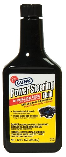 Niteo Motor Medic M2714H/6 Power Steering Fluid with Stop Leak & Conditioner for Honda and Acura - 12 oz.