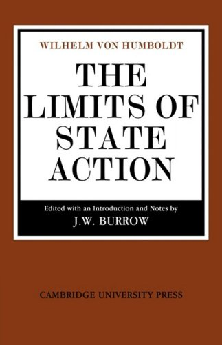 The Limits of State Action (Cambridge Studies in the History and Theory of Politics)