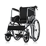 Veayva DELUX folding spokes wheel chair self use with self and attendent brake