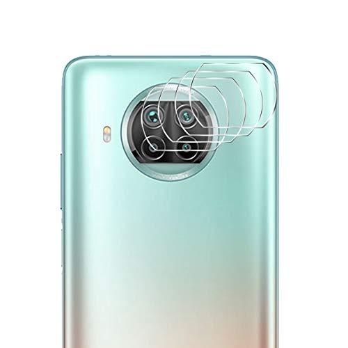 Aerku Cámara Trasera Lente Protector de Pantalla para Xiaomi Mi 10T Lite 5G [4 Piezas],[Cobertura Completa] HD Sin Burbujas Cristal Templado Cámara Protector para Xiaomi Mi 10T Lite 5G [Transparente]
