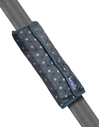 The Original Dooky 126924 Coussin pour ceinture, Grey Stars
