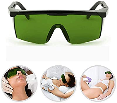 Eye Protection Goggles Protective Glasses for HPL/IPL Hair Removal Device Permanent Hair Removal System Glasses Safety Glasses Against Light Impulses for Body Underarms Bikini Leg by PCTEB