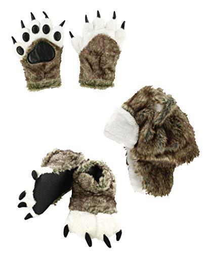 wolf feet costume - 5