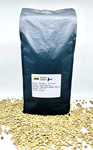 Unroasted Green Coffee Beans imported from Colombia, Premium Specialty Grade Arabica green beans, Fresh and Natural Ideal for Home Coffee Roasters (5)