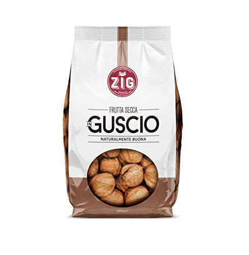 ZIG - Frutta secca in Guscio - Noci Jumbo 2 kg (5 buste da 400g)