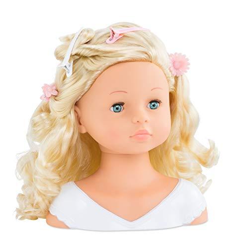 Corolle- Tête à coiffer et Accessoires, 310010, Blanc
