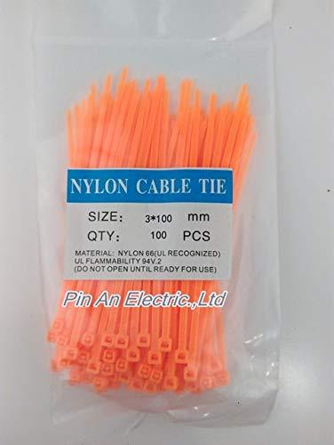100pcs / bag 12 Color 3x100 3 * 100 autobloqueante de nylon...