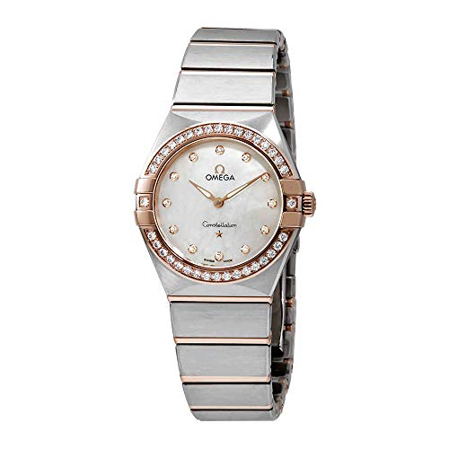 Omega Constellation Quartz Diamond Dameshorloge 131.25.28.60.55.001