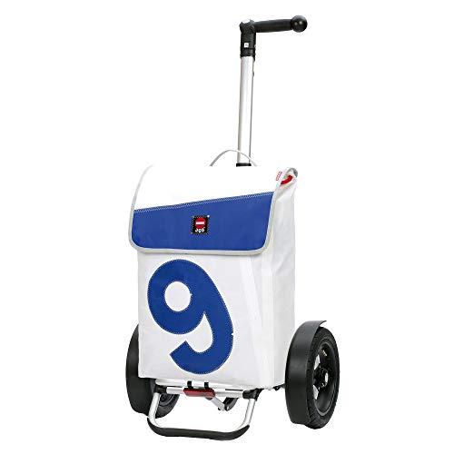 Andersen, Carro de Compra Tura con Bolsa 360° Boje 9, Volumen 53L, Ruedas neumaticás y Marco Aluminio