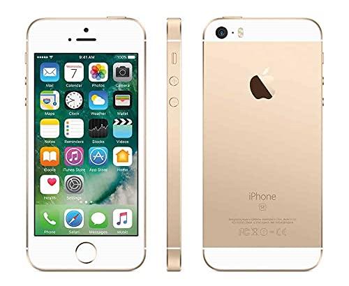Apple iPhone SE, 16GB Factory Unlocked - Gold - 1st Gen 2016