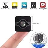 Xytton Cámara portátil Mini cámara Sumergible a Prueba de Agua Full HD 1080P...