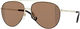 Burberry BE3113 Ferry Pilot Sungl for Women + FREE Complimentary Eyewear Kit