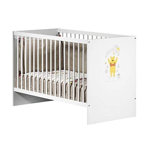 WINNIE Kinderbett mit Gitterst�ben 60x120 cm Fun in the Sun
