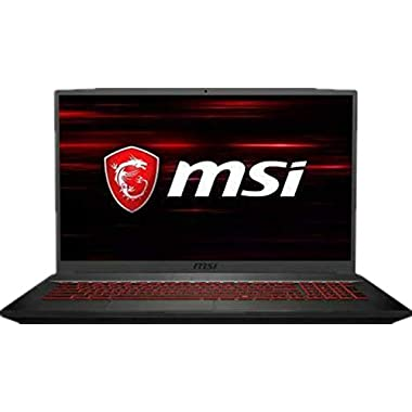 2019 MSI GF75 Laptop 17.3″ 120Hz FHD Gaming Computer  9th Gen Intel Hexa-Core i7-9750H Up to 4.5GHz  32GB DDR4 RAM  512GB PCIE SSD + 1TB HDD  GeForce GTX 1050 Ti 4GB  Backlit Keyboard  Win 10