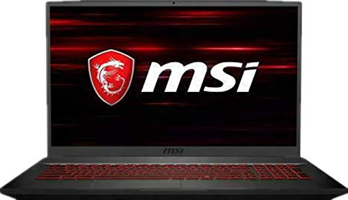 2019 MSI GF75 Laptop 17.3' 120Hz FHD Gaming Computer| 9th Gen Intel Hexa-Core i7-9750H Up to 4.5GHz| 32GB DDR4 RAM| 256GB PCIE SSD + 1TB HDD| GeForce GTX 1050 Ti 4GB| Backlit Keyboard| Win 10