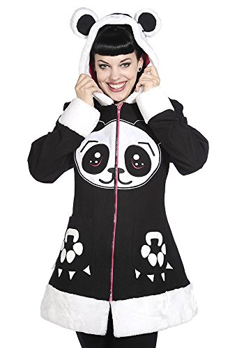 Banned Mantel Sweet Panda Jacke Mantel - Girlie