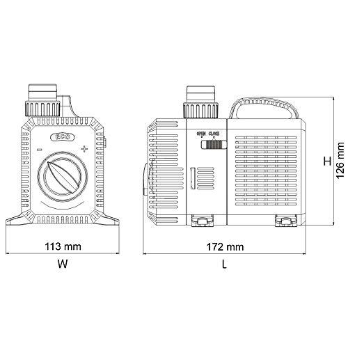 SunSun CTP-2800 SuperECO Teichpumpe Filterpumpe 3000l/h 10W - 3