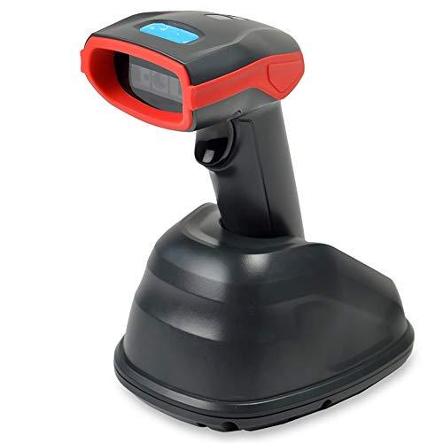 HJKH Scanner de Code Scanner téléphone Portable écran Code Peut être scannée en Temps réel de Transmission sans Fil Haute Vitesse de numérisation Rapide Sensibilité