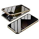 iPhone 11 Pro ケース 両面強化ガラス 覗き見防止 iPhone11ガラスケース アルミ バンパー 表裏……