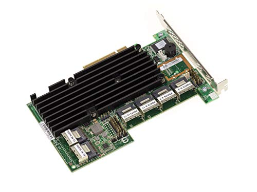 Kalea Informatique - Tarjeta controladora PCIe 2.0 SAS + SATA (6 GB, 24 puertos internos, OEM 9280-24i, Raid 0 1, 5, 6, 10, 50 60)