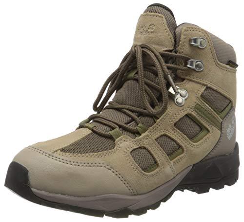 Jack Wolfskin Damen Vojo Hike XT Texapore MID W Walking-Schuh, Clay/Khaki, 38 EU