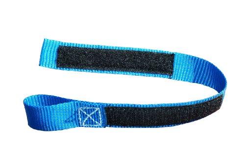 Braun Motorrad Bremshebel Arretierungsband, Farbe blau, 35 cm Länge, mit Klettverschluss (1)